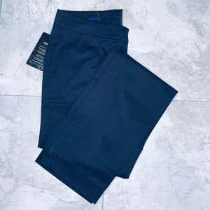 H&M Navy Straight Leg Dress Pants